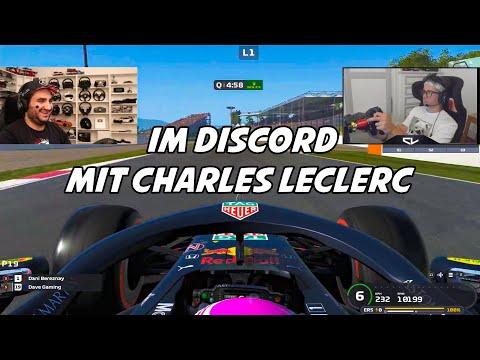 Mit CHARLES LECLERC im Discord.