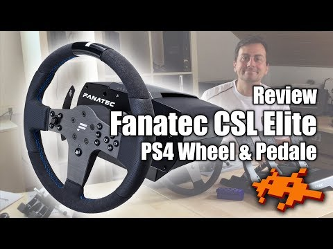 PS5 kompatibel! Fanatec CSL Elite Wheel & Pedale Praxis-Test / Review [PS4 & PS5 Lenkrad]