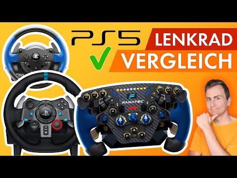 PS5 Lenkrad: Alle PlayStation 5 kompatiblen Sim Racing Wheels im Überblick!