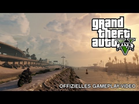 Grand Theft Auto V: Offizielles Gameplay-Video
