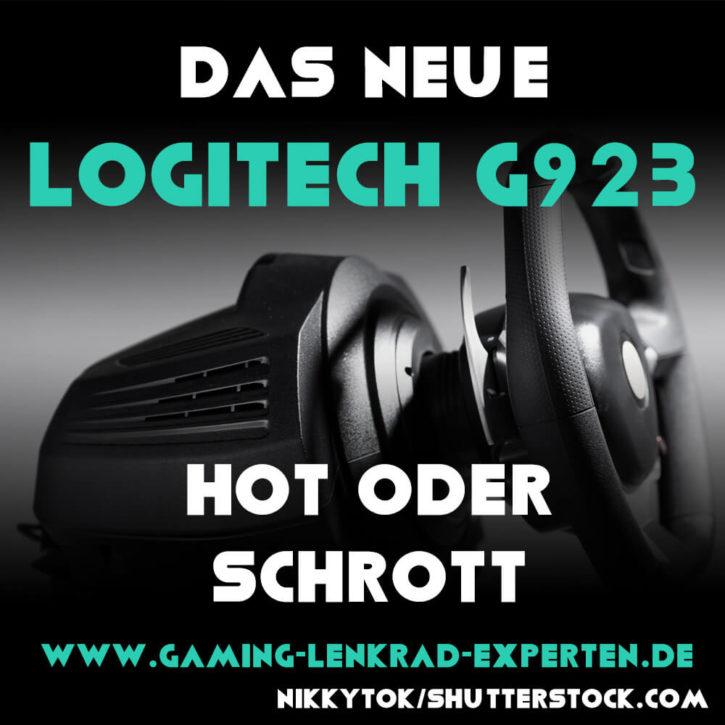 Neues Logitech PS5 Lenkrad: Logitech G923