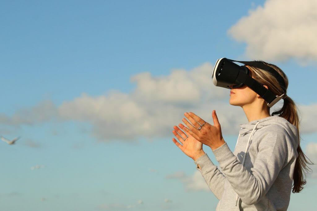 Cloud Gaming Himmel VR
