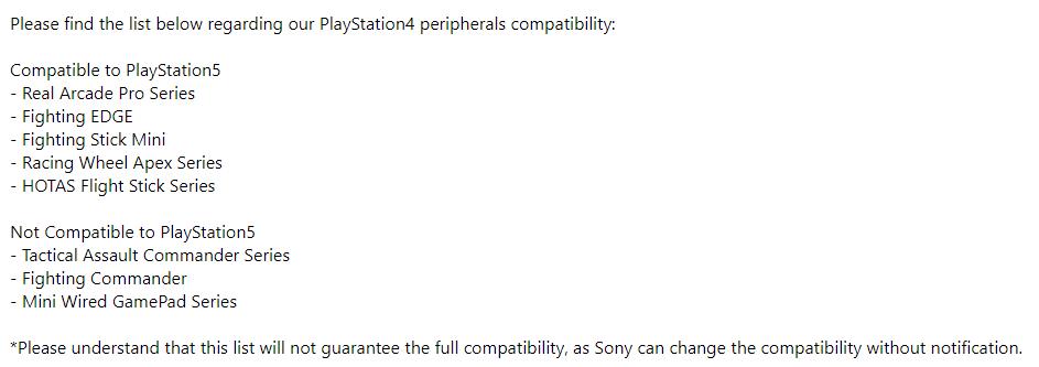 Hori PS5 kompatible Peripheriegeräte