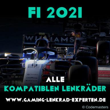 F1 2021 – Die besten kompatiblen Lenkräder